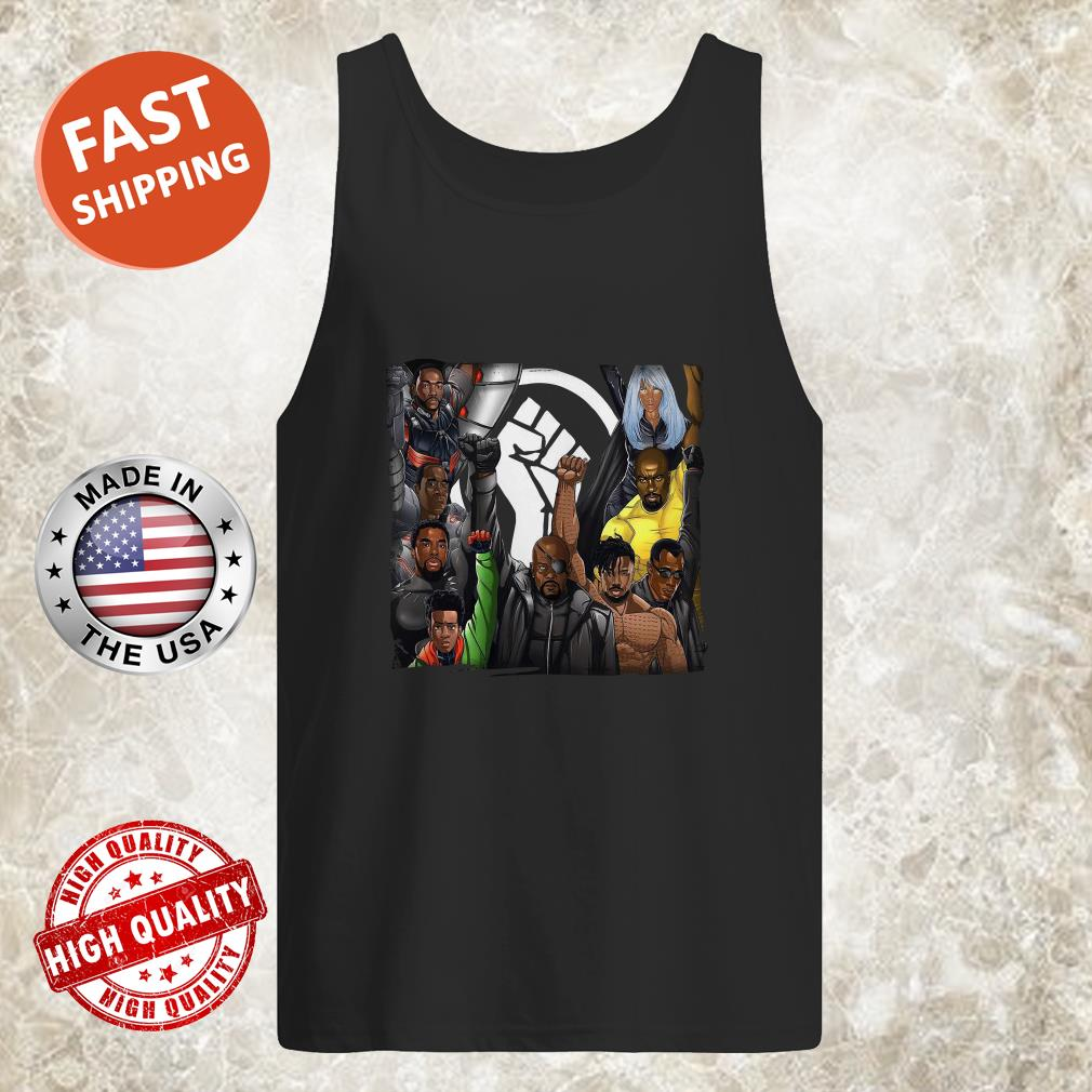 Black Panther Appreciation 2020 Strong Hand Tank top