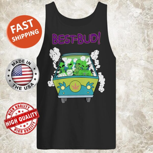 Alien Driving Best Bud tank top