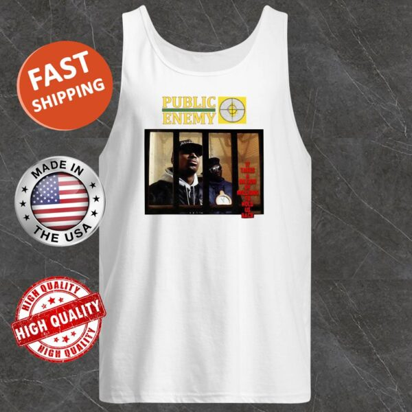 Public enemy it tries millions to hold us back Tank top