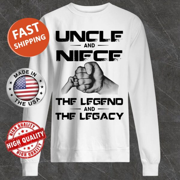 Uncle And Niece The Legend And The Legacy Sweater