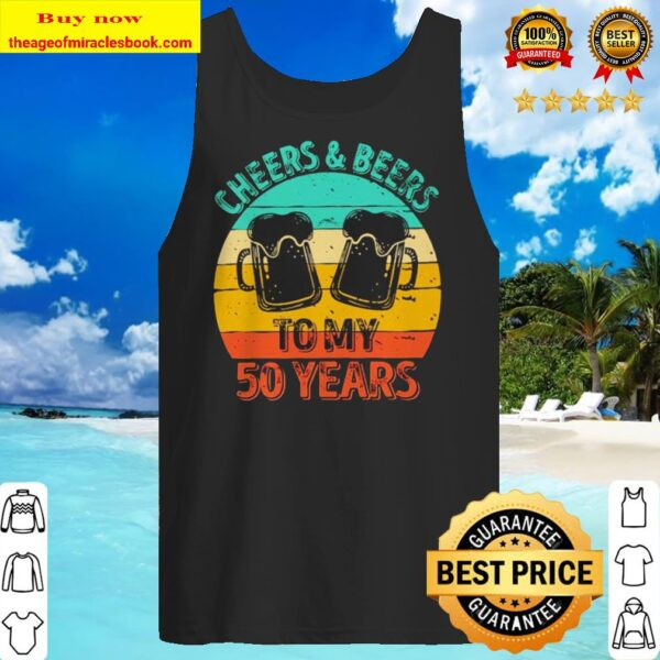 Cheers and beers to my 50 years vintage Tank top