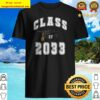 Class of 2033 Grow With Me School First Day Back to School Shirt