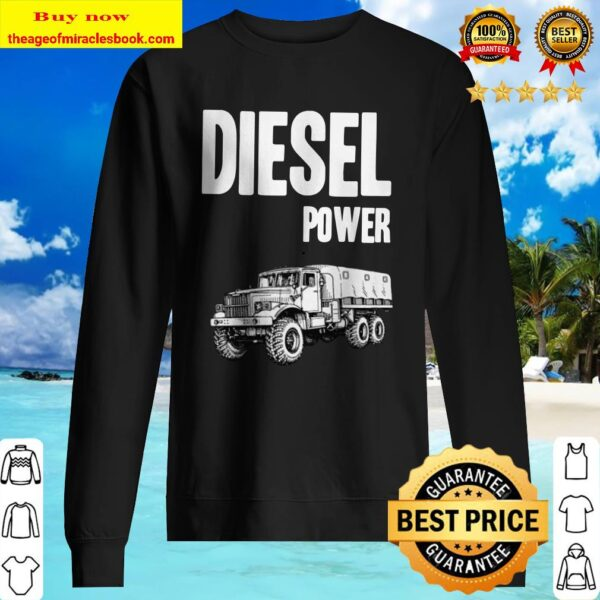 Diesel Power Soviet Kraz 255 6×6 Truck Sweater