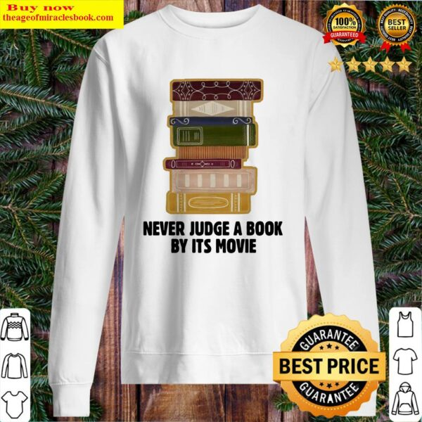 Never Judge A BookBy It's Movie Sweater