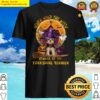 Never Mind The Witch Beware Of The Yorkshire terrier Halloween Moon Shirt