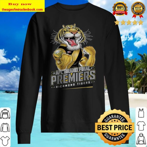 Official AFL grand final 2019 premiers Richmond Tigers Sweater