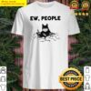 Official Black Cat face mask EW people Shirt