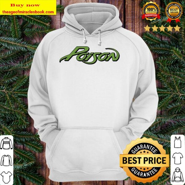 Official poison logo Hoodie