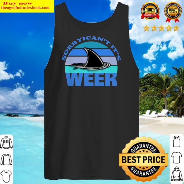 Sorry I Can't it's Week 2020 Shark Vintage Tank Top