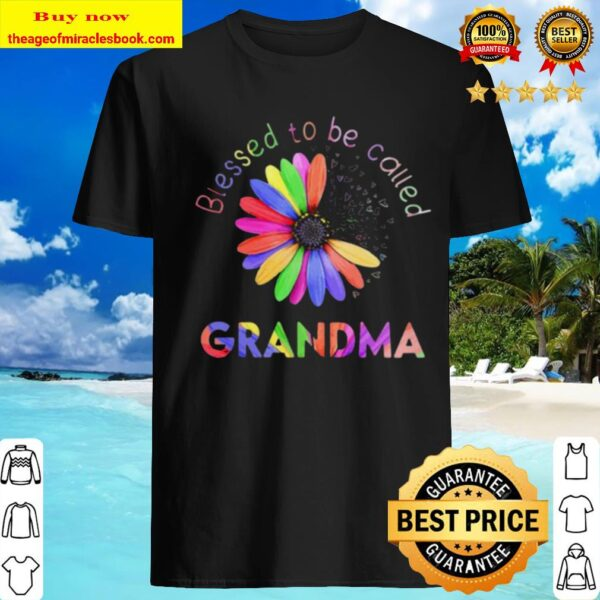 Blessed To Be Called Grandma Hippie Shirt