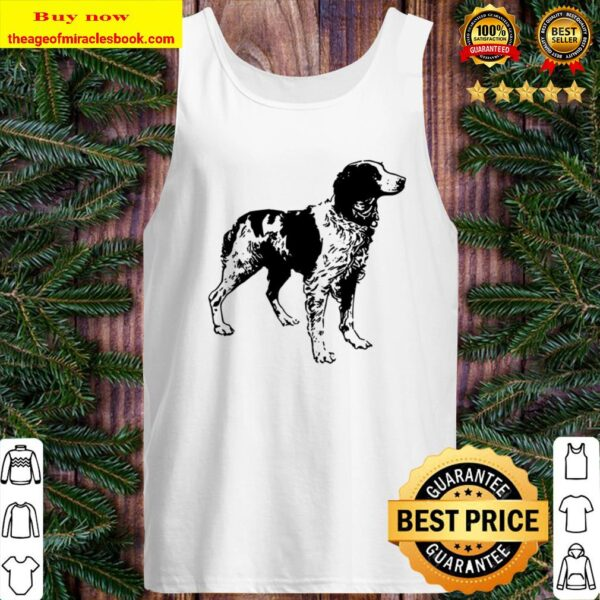 Brittany Spaniel Dog Love Dogs Mothers Fathers Day Tank Top