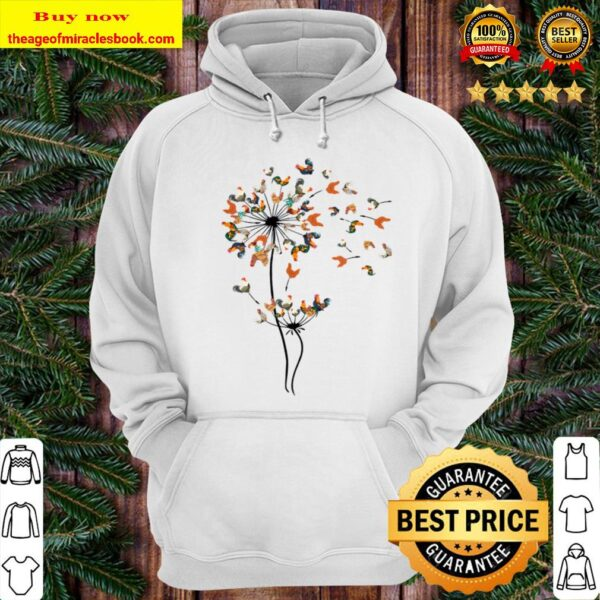 Dandelion Chicken The Chicken Funny Hoodie