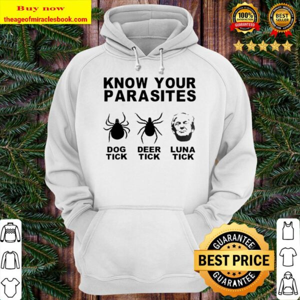 Deer Dog Luna Tick Know Your Parasites Gift Hoodie