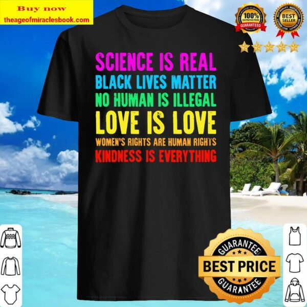 Kindness Is Everything Love Is Love Black Lives Matter Blm Shirt