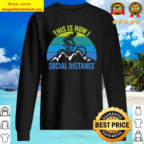 Mens Funny Mountain Bike MTB Quotes Biker Cyclist Sweater