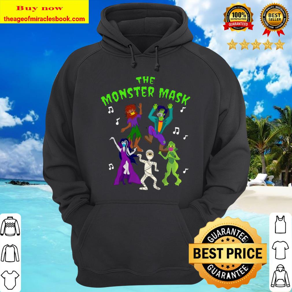 Monster Mask Dance Party Pullover Hoodie