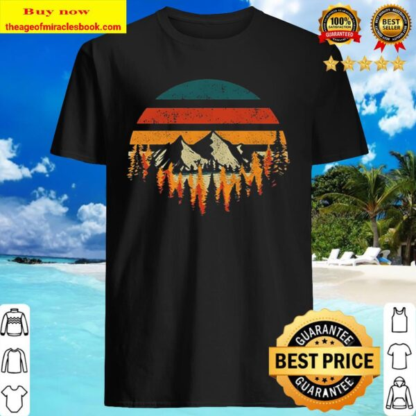 Mountain Forest Outdoor vintage Shirt