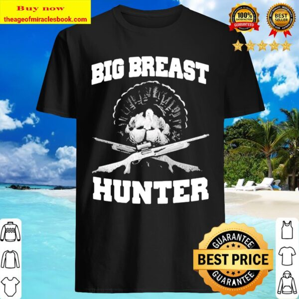 Peacock big breast hunter Shirt