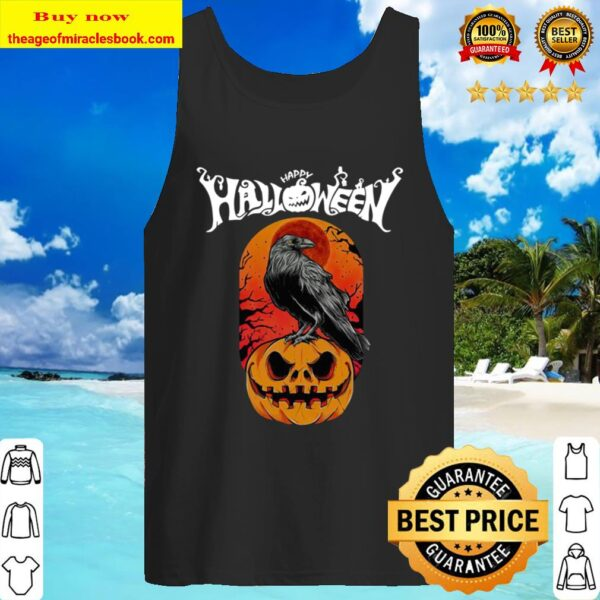 Raven happy Halloween Tank Top