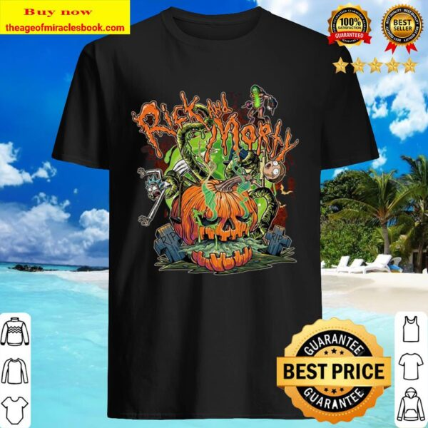 Rick and Morty Halloween Shirt
