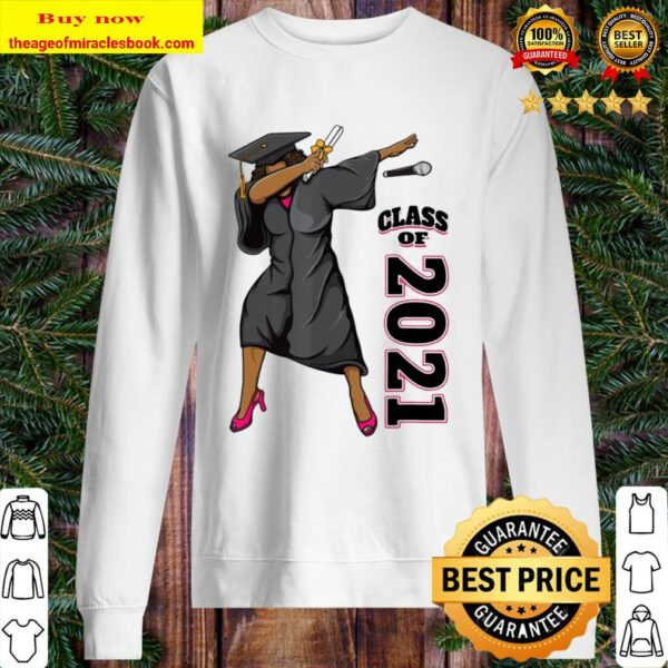 Seniors Class of 2021 Graduation Gifts for Her Dabbing Queen Sweater