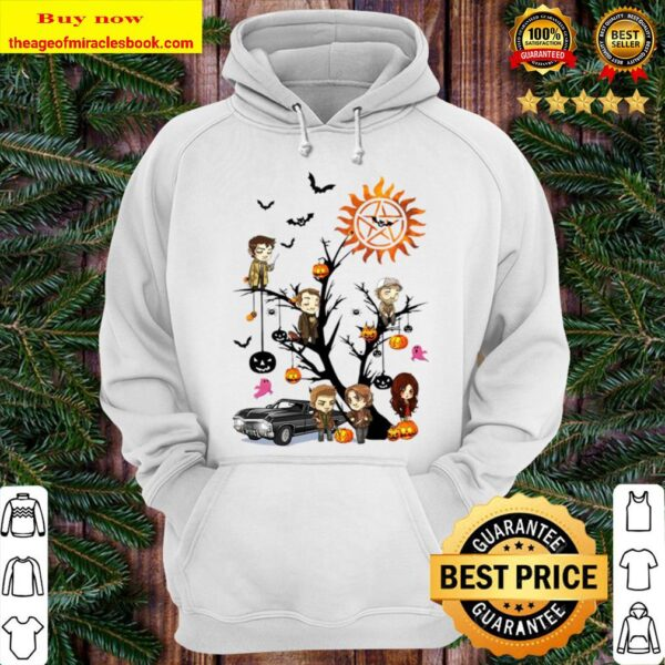 Supernatural trees Halloween Hoodie