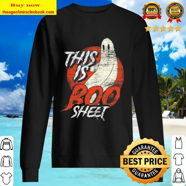 This Is Boo Sheet Ghost Sweater