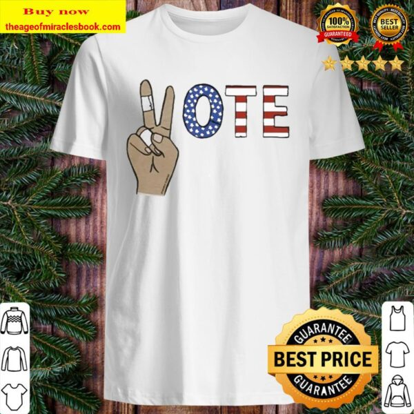 Vote Peace Hand American Shirt