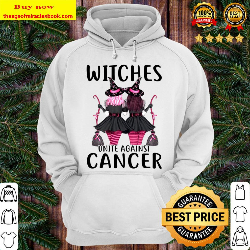 Witches Unite Against Cancer Halloween Hoodie
