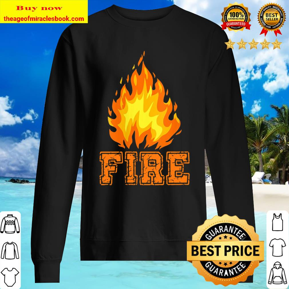 Womens Fire And Ice Matching Halloween Costume For Adults Couples Sweater