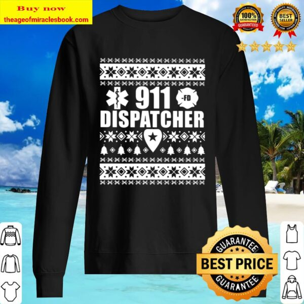911 Dispatcher Christmas Sweater