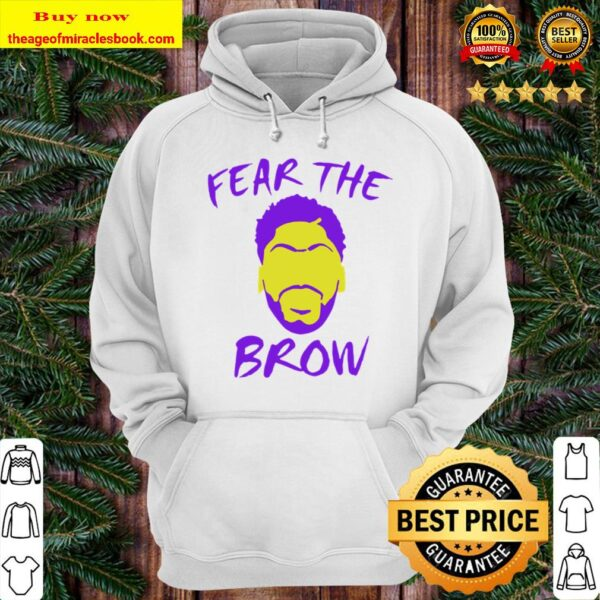 Anthony Davis fear the brow basketball Hoodie