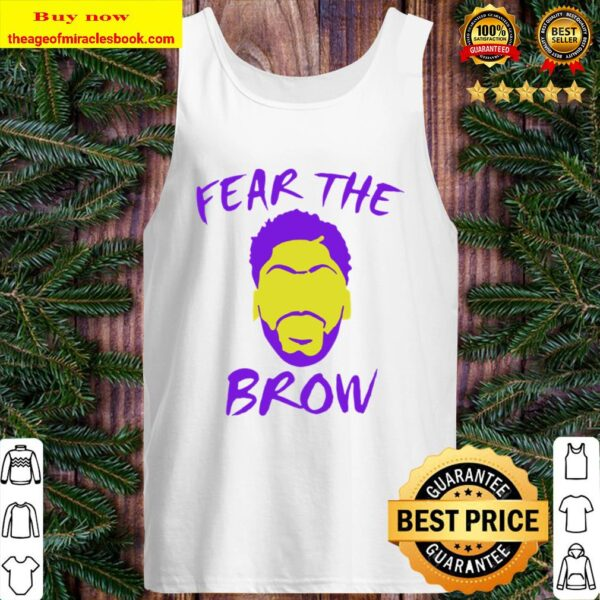 Anthony Davis fear the brow basketball Tank Top