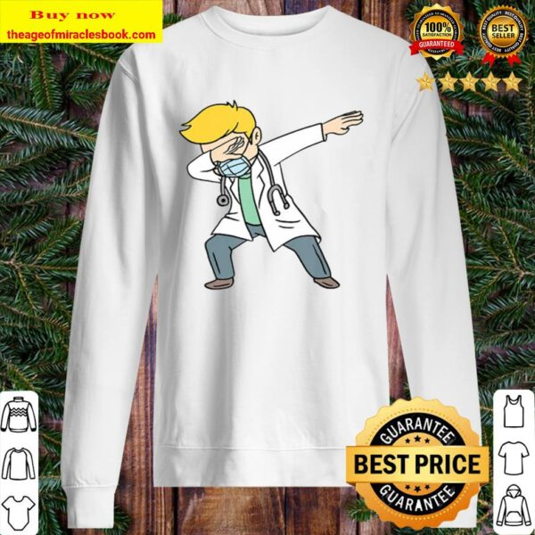 Dabbing Doctor Doctoral Degree Doctorate Gift Sweater