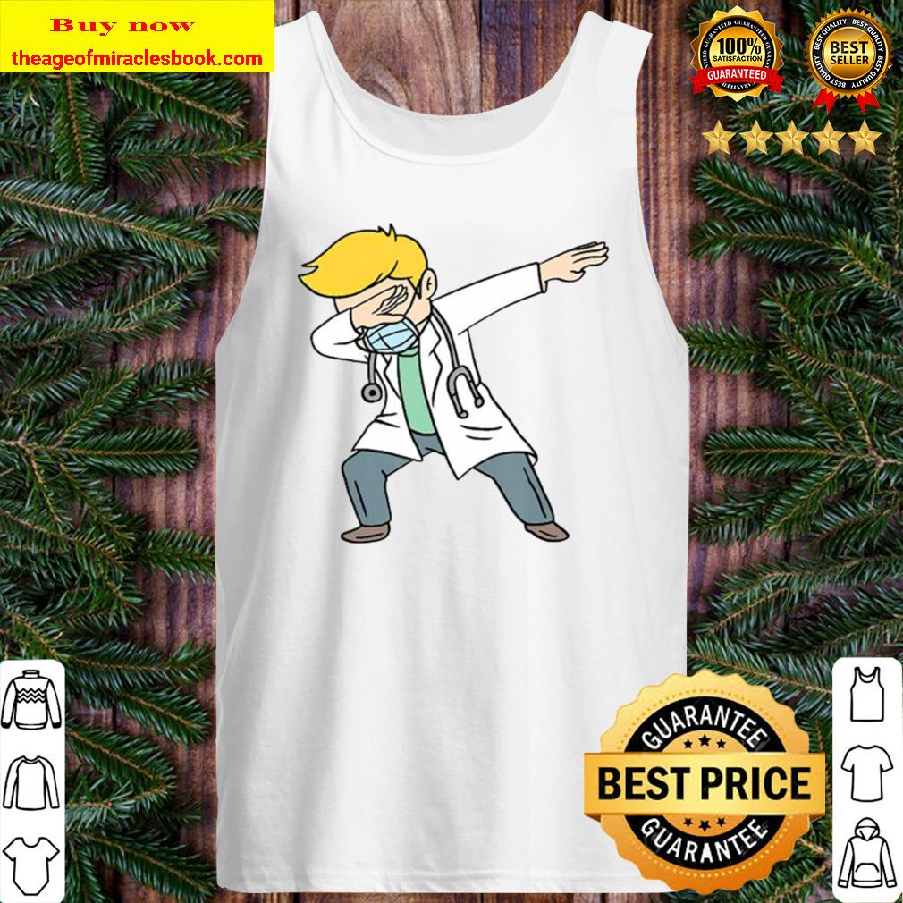 Dabbing Doctor Doctoral Degree Doctorate Gift Tank Top