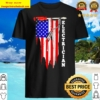 Electrician american flag vintage Shirt