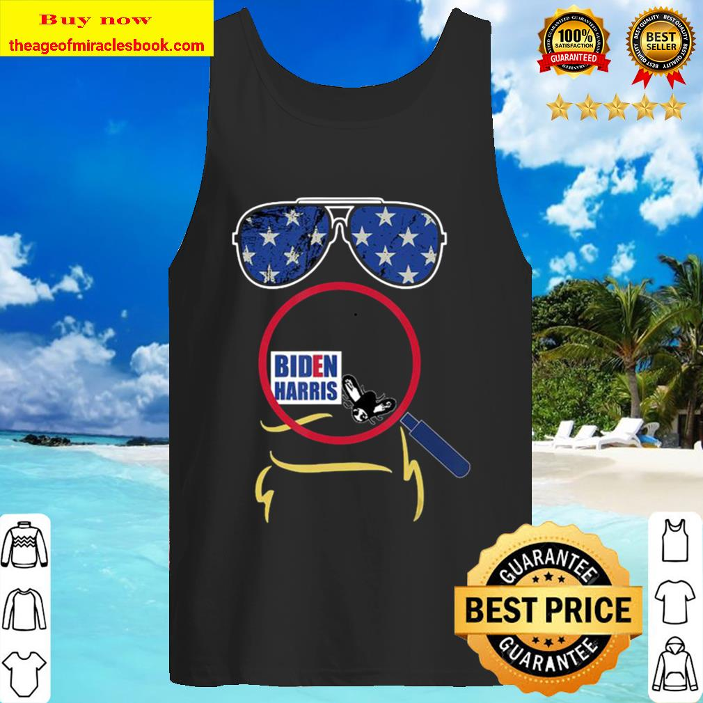 Funny Cool Trump-Biden Pence Fly Swatter US Election 2020 Tank Top