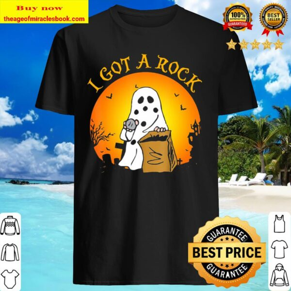Gift For Men Women Boy Girl I Got A Rock Halloween Shirt