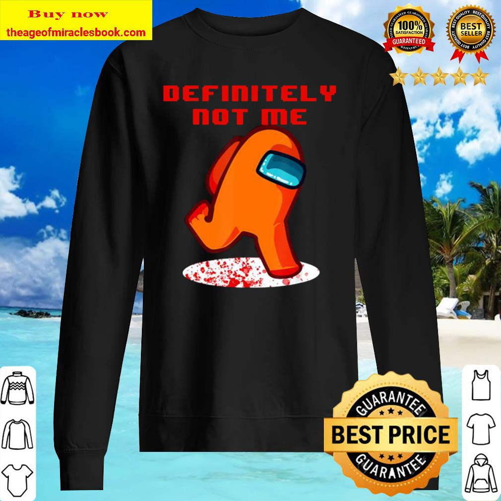 Impostor Among-us funny vintage game Sus Sweater