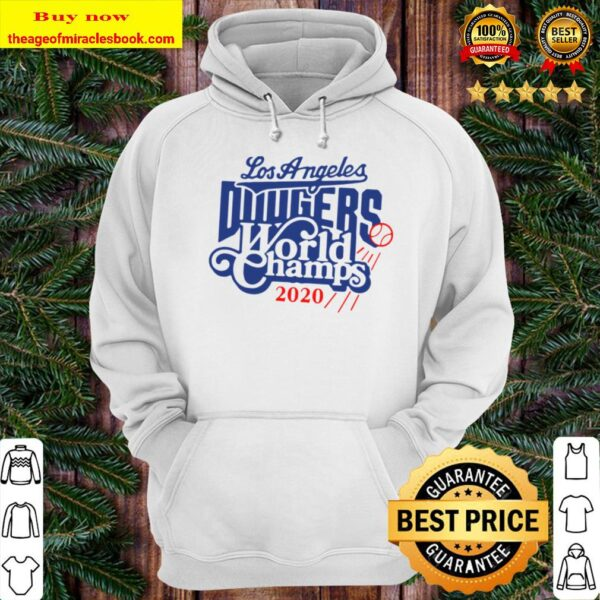 Los Angeles Dodgers World Champs 2020 Hoodie