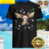 Moose Christmas light Christmas Shirt