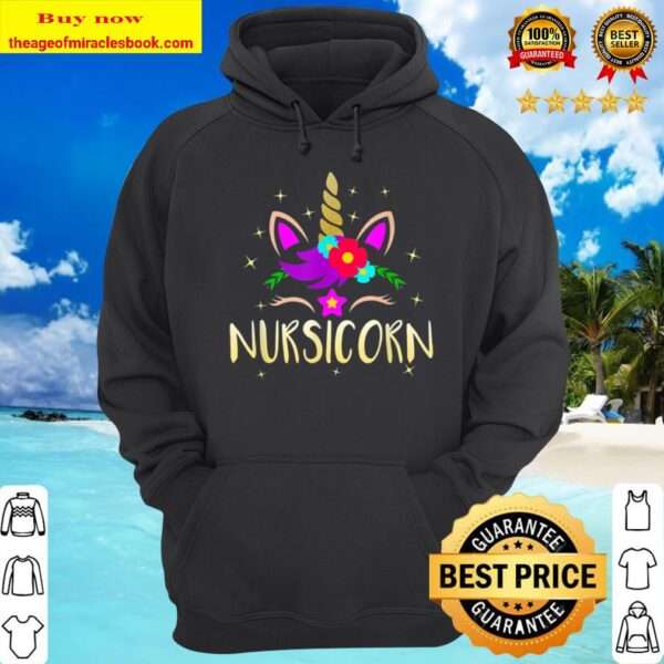 Nursicorn Unicorn Gift For Female Nurse Hoodie
