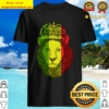 Rasta King Lion Weed Cannabis Shirt