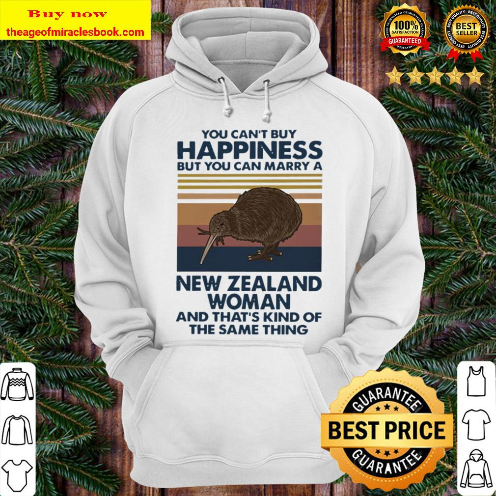 Sandpiper You can't buy happiness but you can marry a New Zealand woma Hoodie