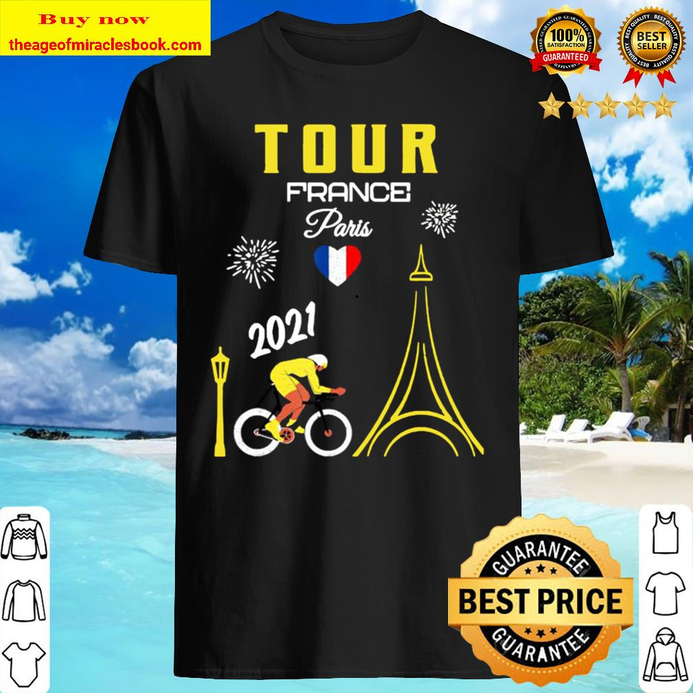 Tour France T-shirt French Bicycle Racing Summer cycle 2021 Shirt