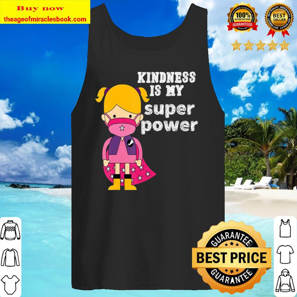 Unity Day No bullying kindness is my superpower Orange tee Tank Top