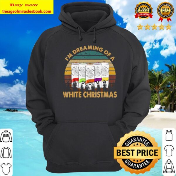 Vintage White Shirt Claw – I'm Dreaming Of A White Christmas Hoodie