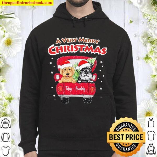 A very Merry Christmas Toby-Buddy Hoodie