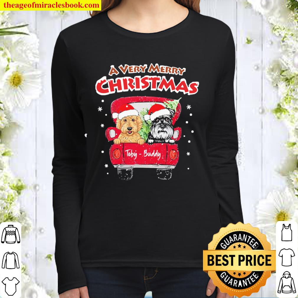 A very Merry Christmas Toby-Buddy Women Long Sleeved