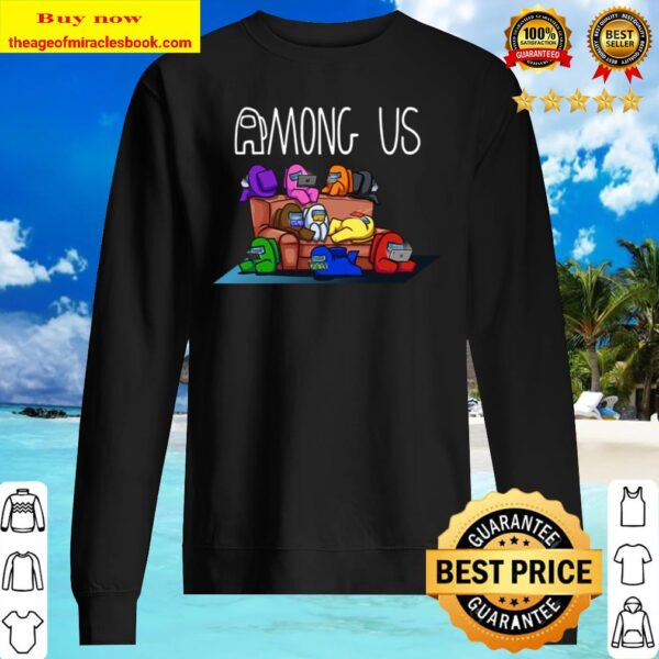 Among Us Couch T shirt, Video Game, Among Us Gamer, Gift, Adult, T shi Sweater